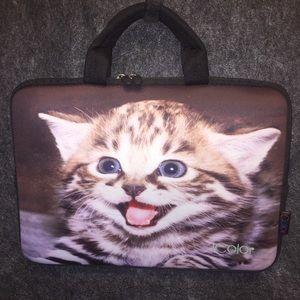 iColor Laptop Kitten Bag